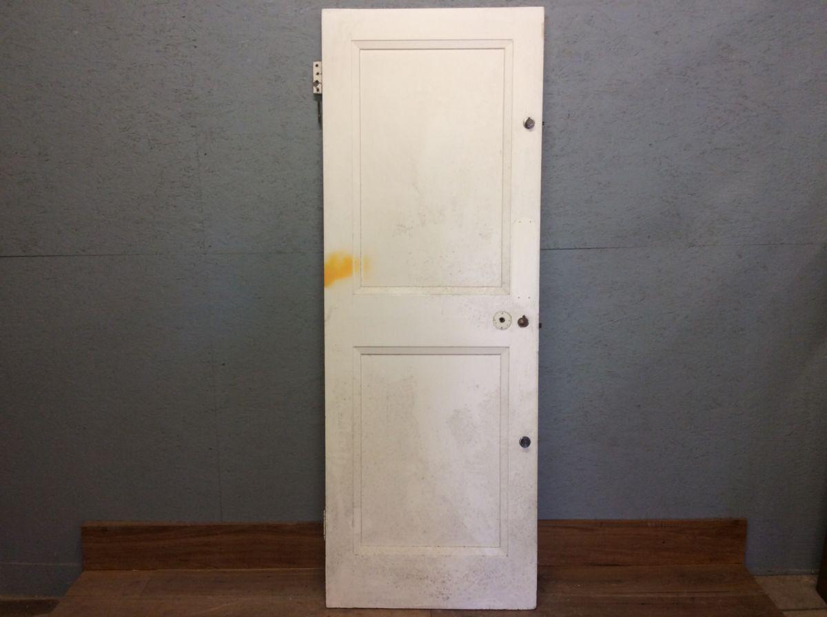 1 Over 1 White Door