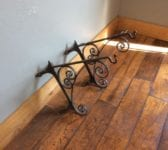 Victorian Wall Mounted Corner Basket Brackets