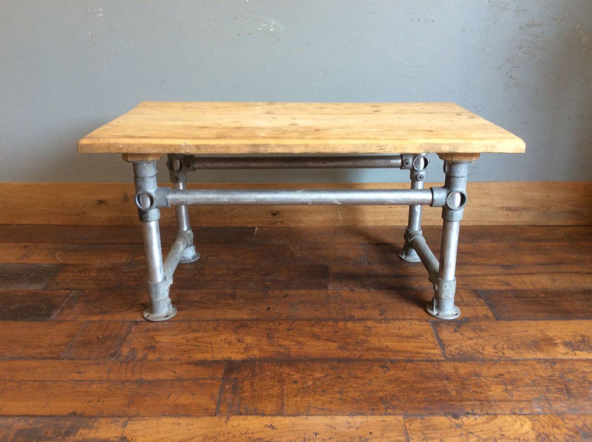 Scaffold Pole & Board Table