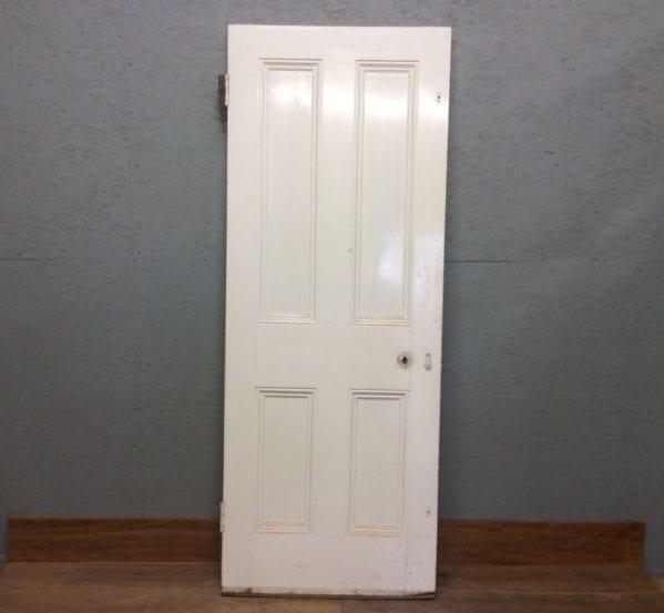 4 Panelled White Door