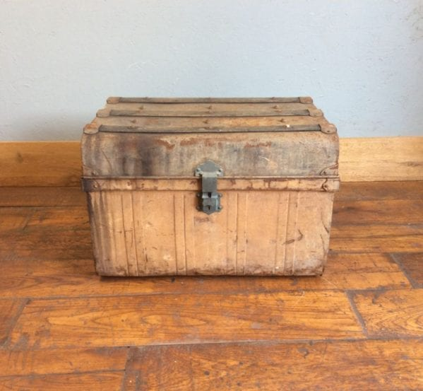 Metal & Wood Trunk