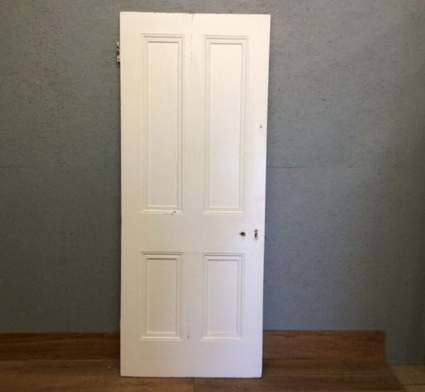 Painted 4 Panelled Door Full Beading
