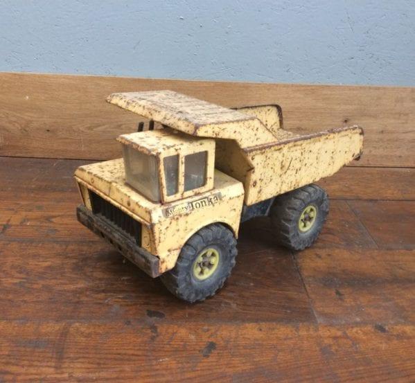 Vintage Toy Dumpster Truck