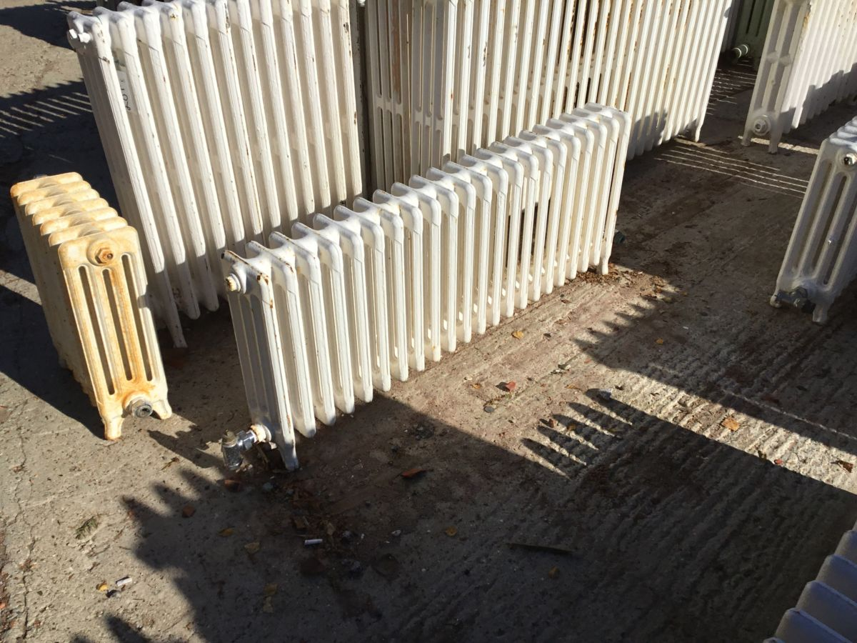 Reclaimed Low 4 Bar Radiator