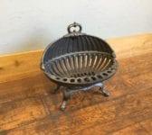 Rounded Shell Like Fire Basket