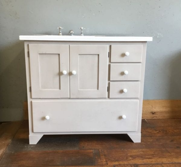 Fired Earth Washstand Bathroom Cabinet