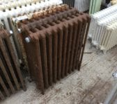 Mid High Brown Radiator 4 Bar