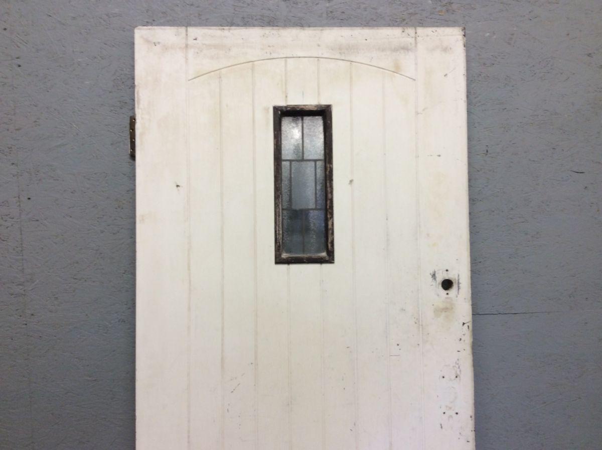 Sturdy Ledge & Braced Front Door