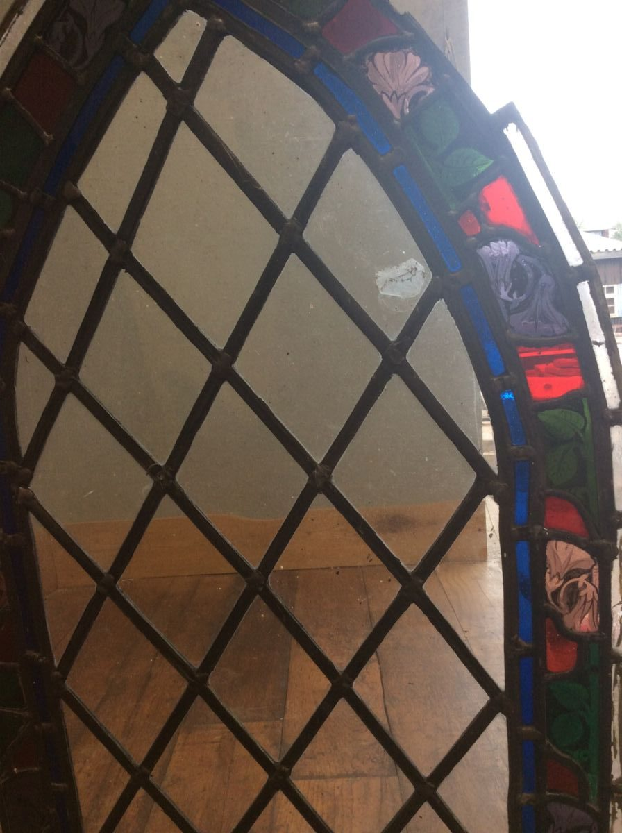 Job Lot Church Stained Glass Windows