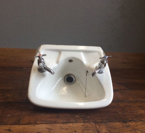 Small Hand Basin With Taps