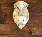Cherub Wall Mounted Water Feature