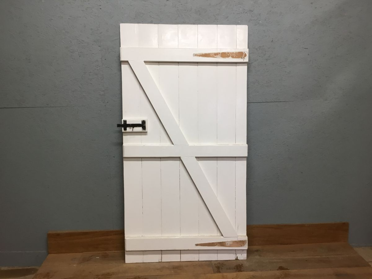 White L & B Door