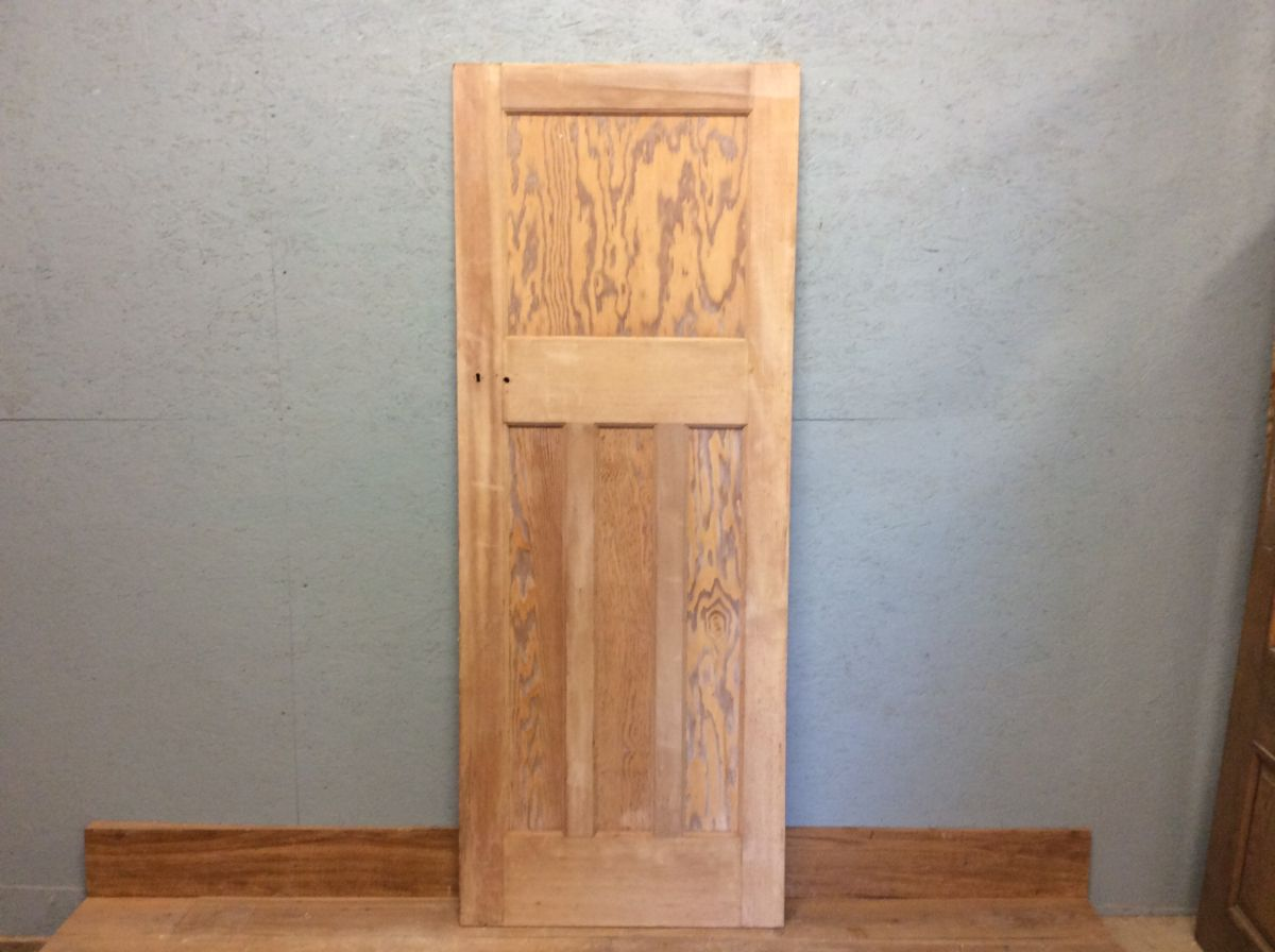 Stripped -1 Over 3- 4 Panelled Door