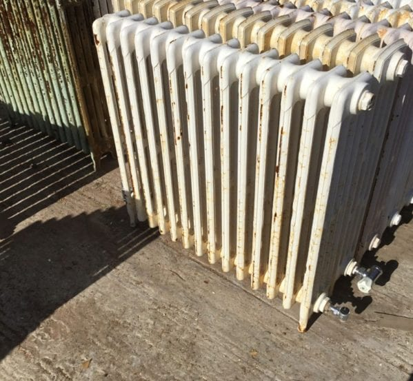 Reclaimed 4 Bar Mid Height Radiator