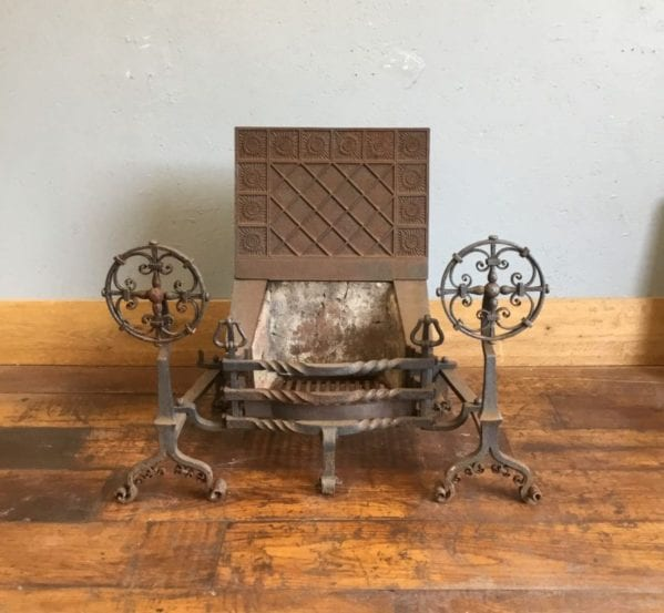 Large Arts & Crafts Fire Basket