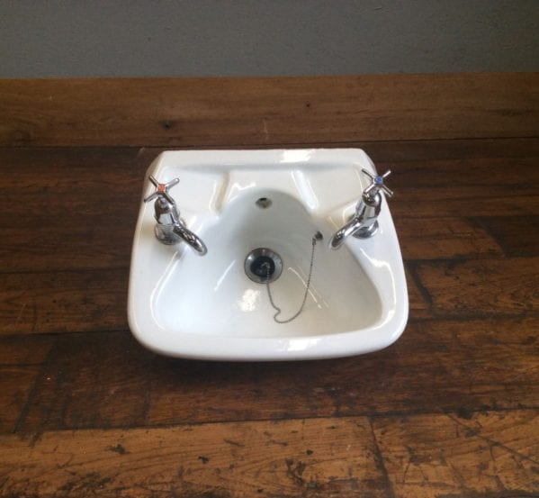 Hand Basin With Taps Small