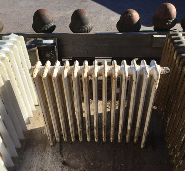 Reclaimed 4 Bar Small Radiator