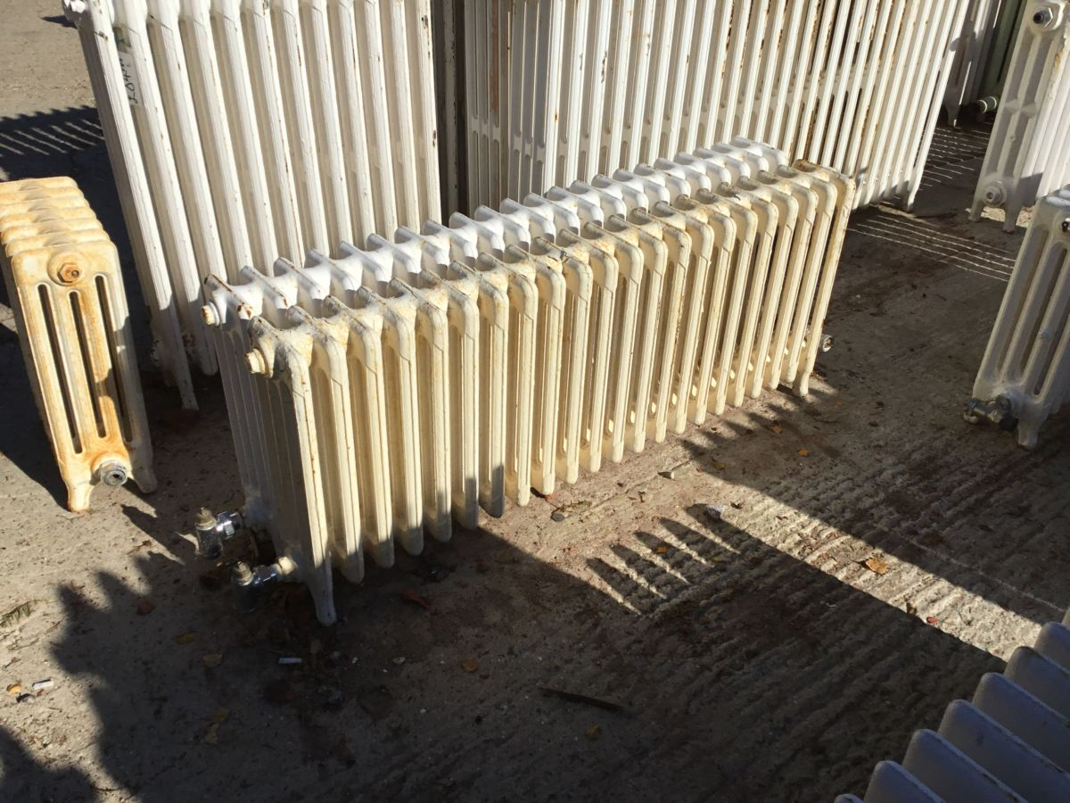 Low Reclaimed 4 Bar Radiator