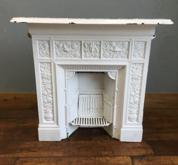 Thomas Jeckyll Cast Iron Fireplace