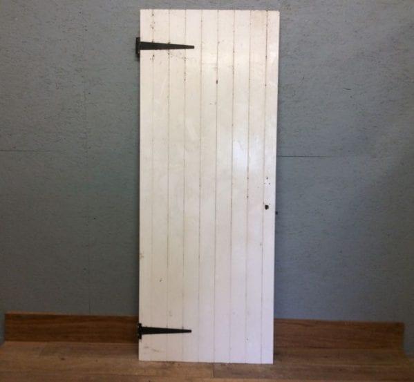 Ledge & Braced White Door