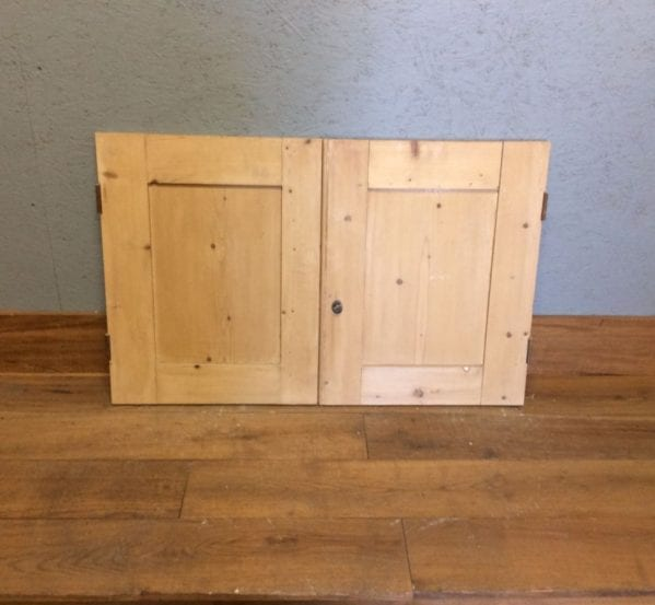 Stripped Wide Cupboard Doors