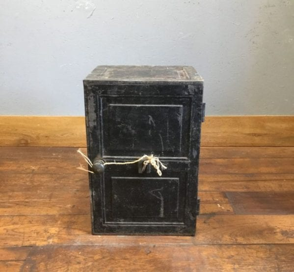 Victorian Cast Iron Safe