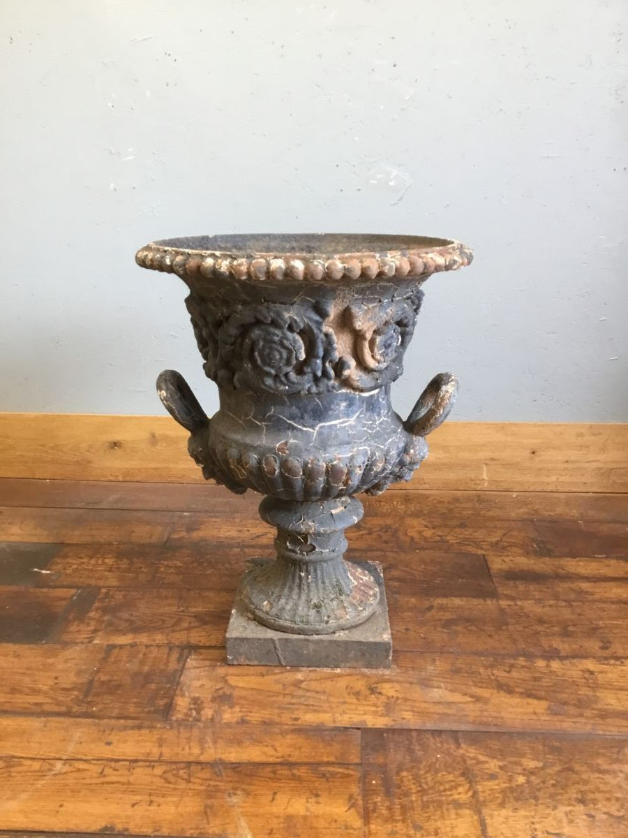 Cast Iron Urn Planter