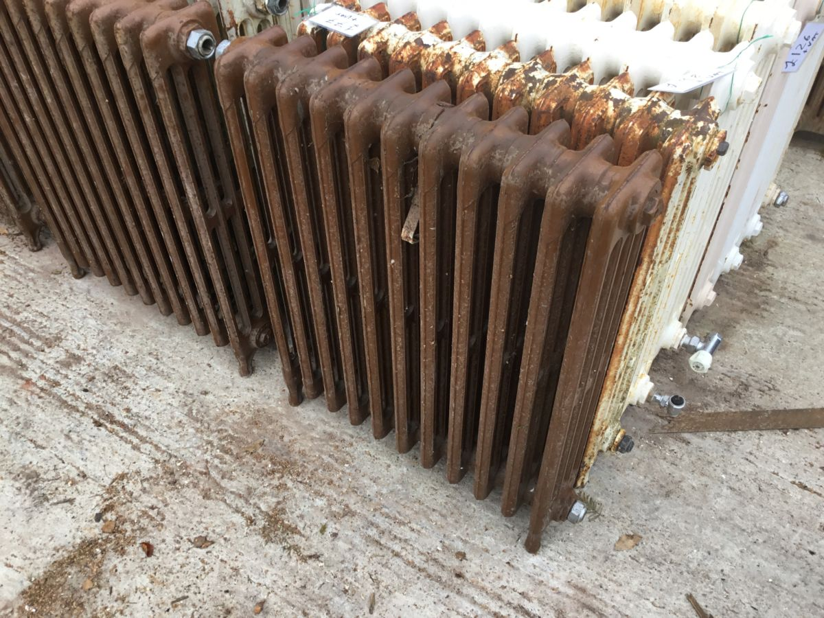 Brown Mid High 4 Bar Radiator