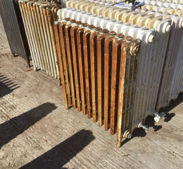 Reclaimed 4 Bar Mid High Radiator
