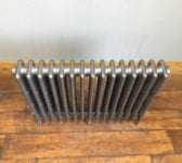 Reclaimed Polished 4 Bar Radiator