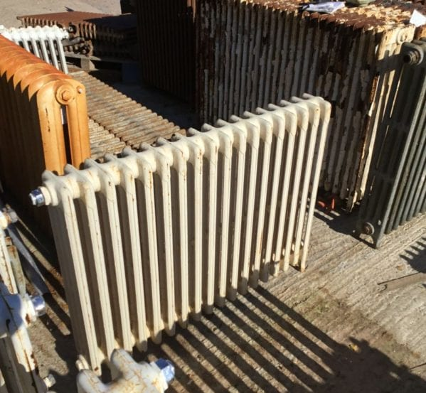 Mid Height Reclaimed 4 Bar Radiator