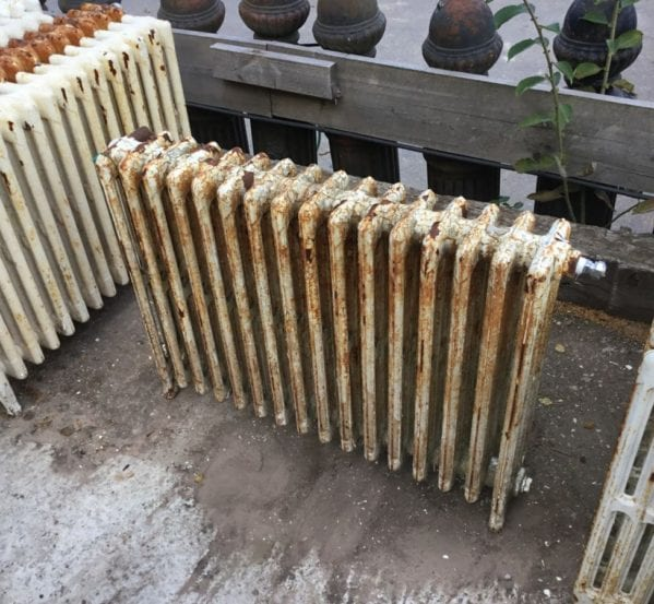 2 Foot Reclaimed 4 Bar Radiator