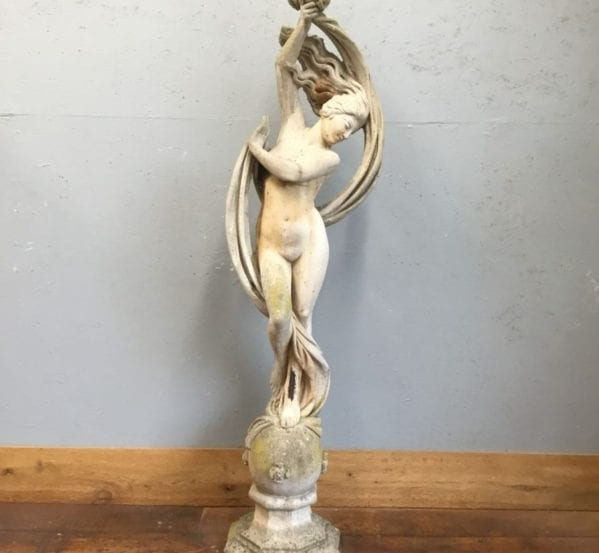 Windswept Lady Statue