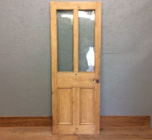 Half Glazed 4 Panelled Door