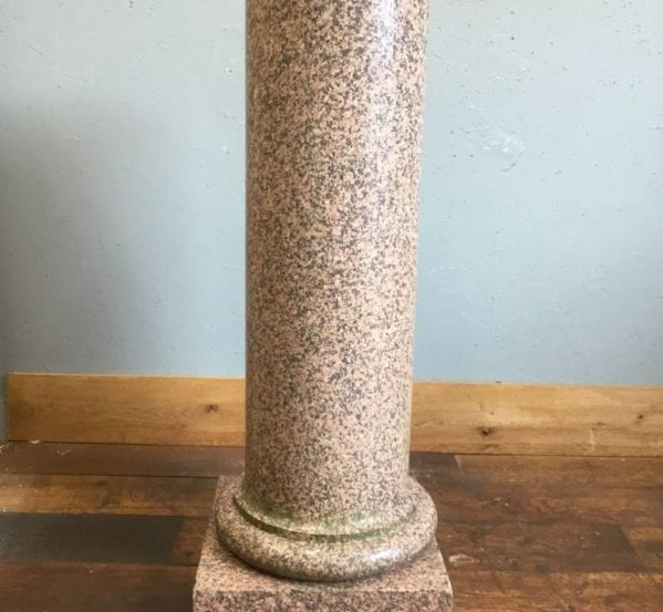 Red Granite Plinth