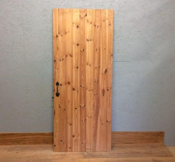 Ledge & Braced Stripped Door