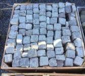Light Reclaimed 4 Inch Granite Cobbles