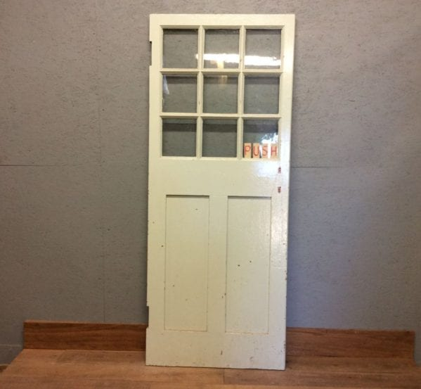1 Over 2 Style Half Glazed Door