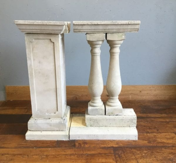 Urn Shaped Stone Balustrade