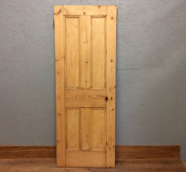 Stripped 4 Panelled Gloss Door