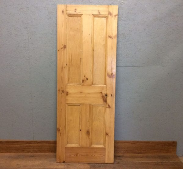 4 Panelled Door Stripped Glossy