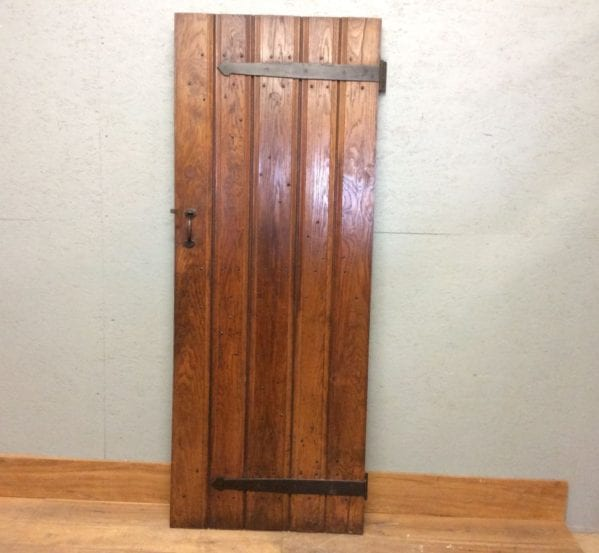 Oak Reclaimed Ledge & Brace Door