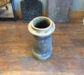 Pink Brown Medium Cannon Chimney Pot