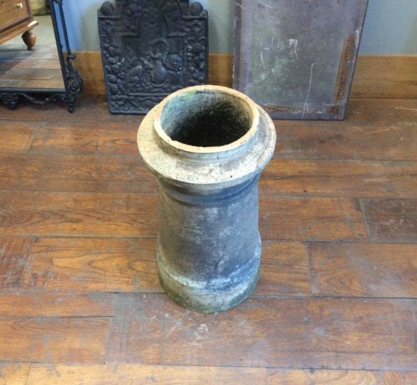 Pink Brown Medium Cannon Chimney Pot