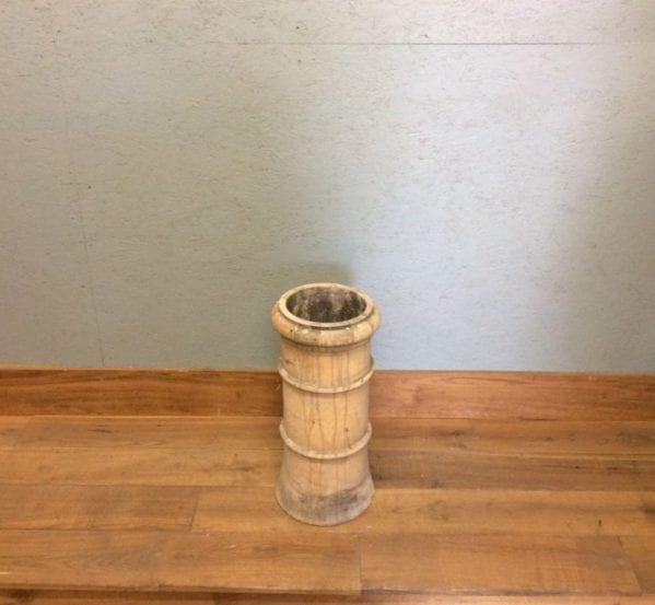 Light Ridged Cannon Head Chimney Pot