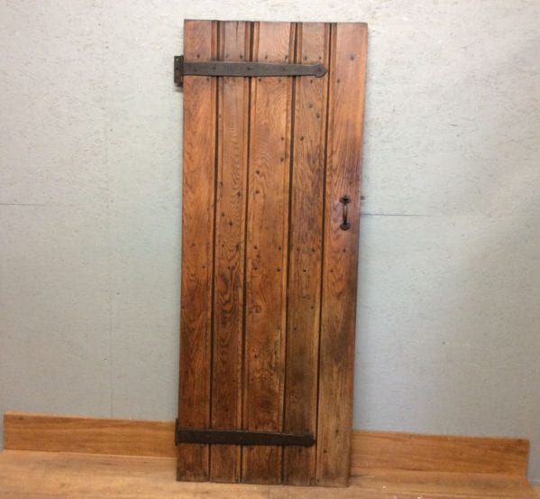 Original Oak Ledge & Brace Door