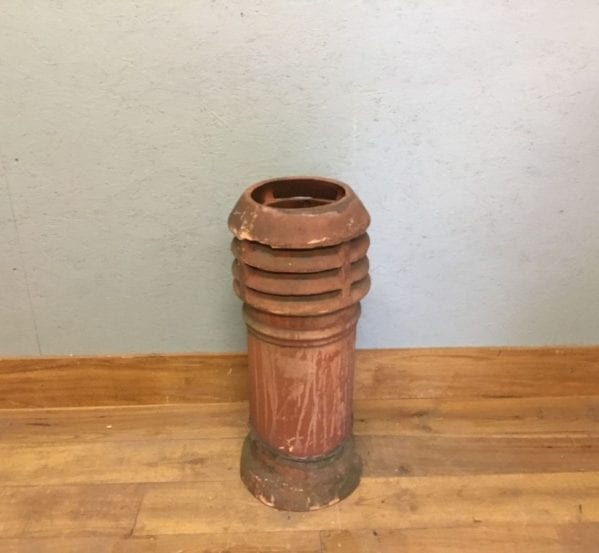 Reclaimed Terracotta Louvred Chimney