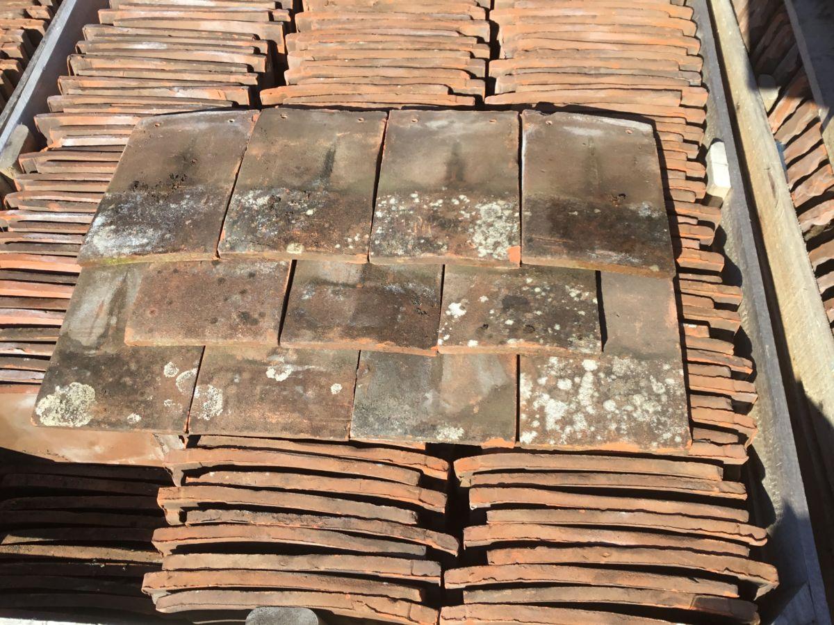 Reclaimed Autumn Brown Goxhill Nib Tiles