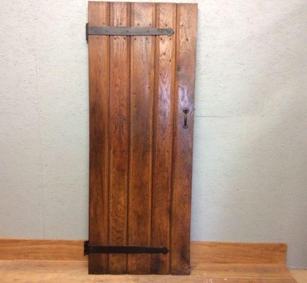 Ledge & Brace Oak Plush Door