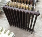 Reclaimed Dark School Radiator